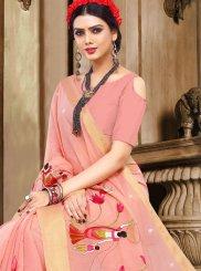 Pink Ceremonial Traditional  Saree