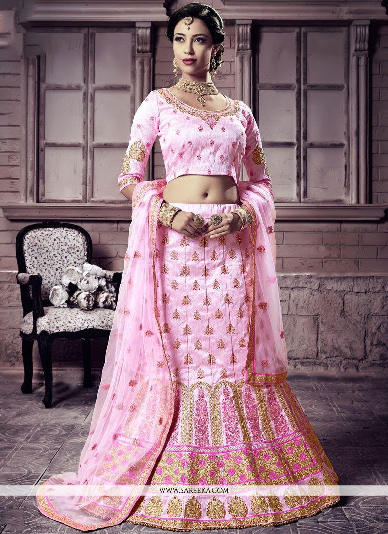 0213c06fac48f5 Buy Online Pink Lehenga Choli : 73561 -