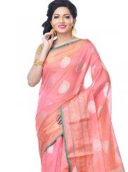 Pink Reception Classic Designer Saree