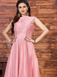 Princely Pink Readymade Gown