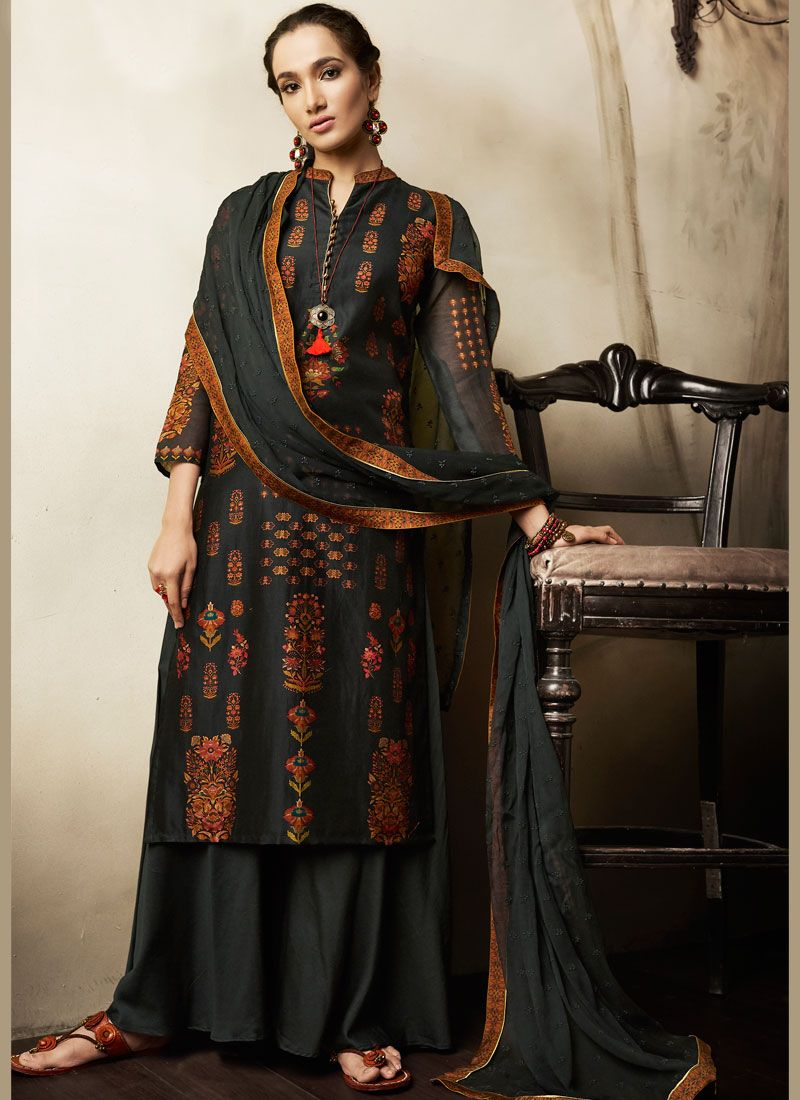 af6a78699e Shop Print Work cotton lawn Designer Pakistani Suit Online : 80305 -