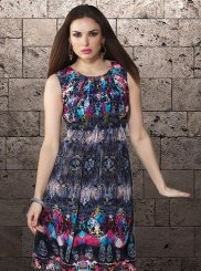 Printed Multi Colour Casual Kurti