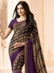 Printed Work Work Casual Saree