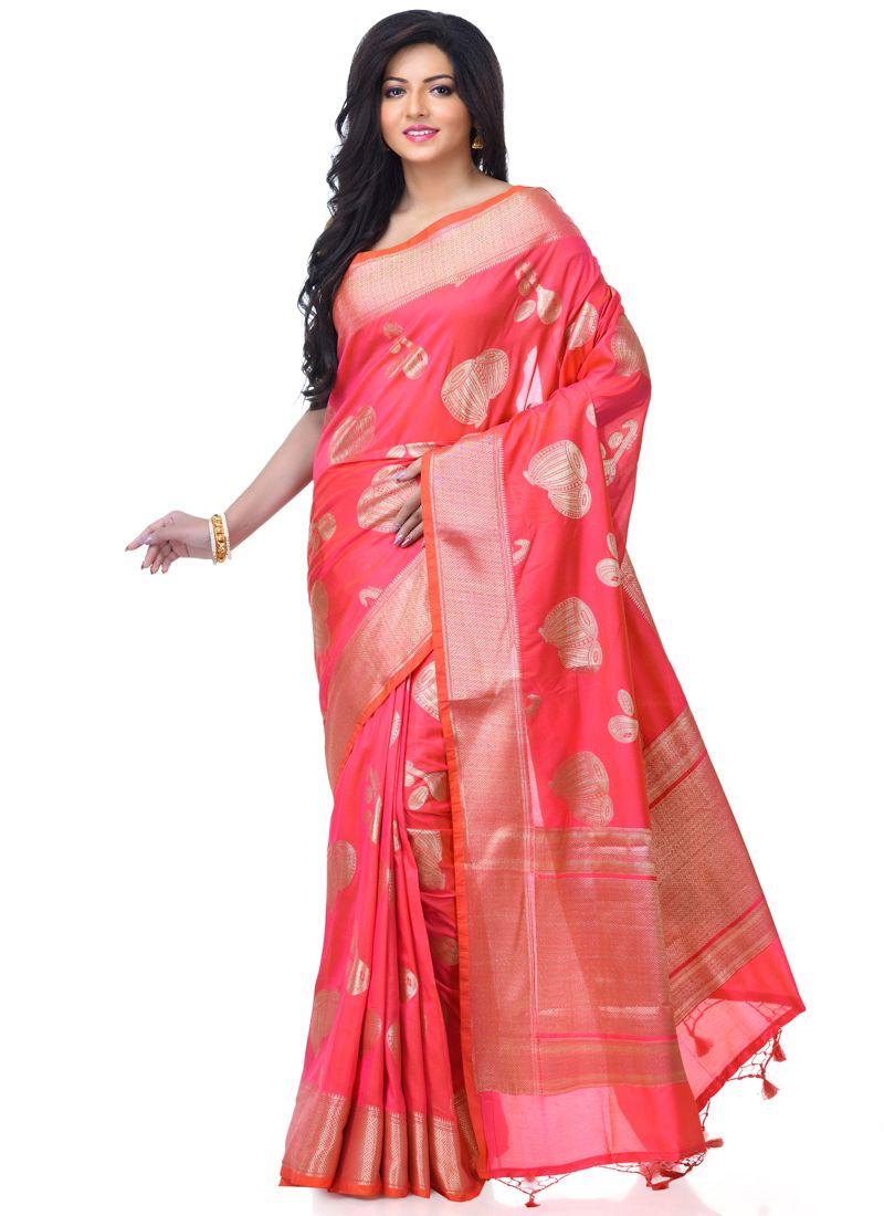 Rani Banarasi Silk Reception Classic Designer Saree