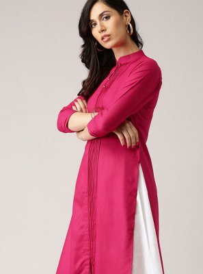 Rani Rayon Casual Party Wear Kurti