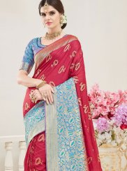 Red Wedding Designer Traditional Saree