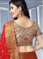 Red Wedding Designer Traditional Saree