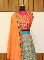 Resham Banarasi Silk Designer Lehenga Choli