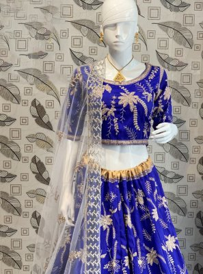 Resham Malbari Silk  Lehenga Choli