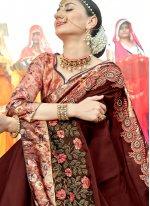 Resham Wedding Designer Traditional Saree