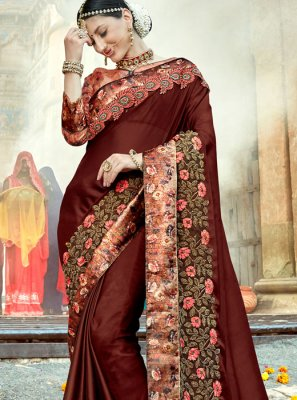 Resham Wedding Designer Traditional Saree