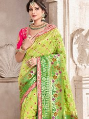 Resham Wedding Traditional Designer Saree