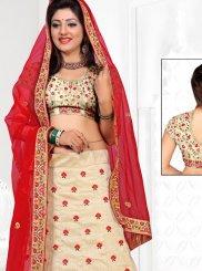Resham Work Net Designer Lehenga Choli