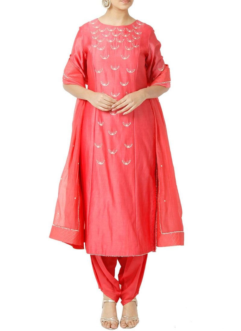 Rose Pink Designer Suit