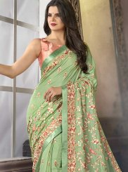 Satin Sangeet Trendy Saree