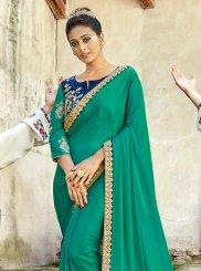 Satin Silk Festival Designer Saree