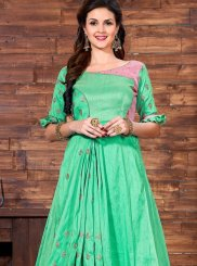 Sea Green Designer Gown