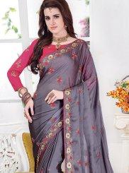 Silk Mehndi Classic Saree
