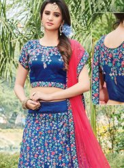 Silk Zari Work Designer Lehenga Choli