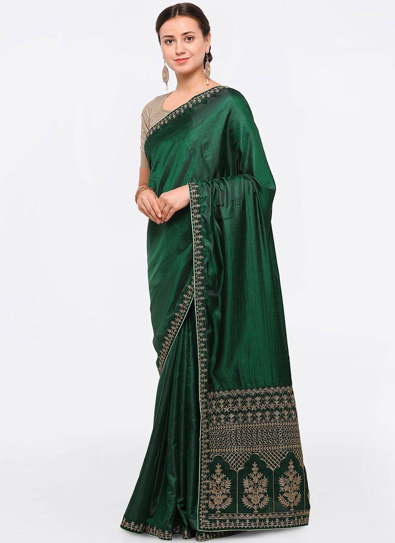 Silk Zari Work Designer Saree