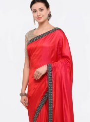 Silk Zari Work Designer Saree