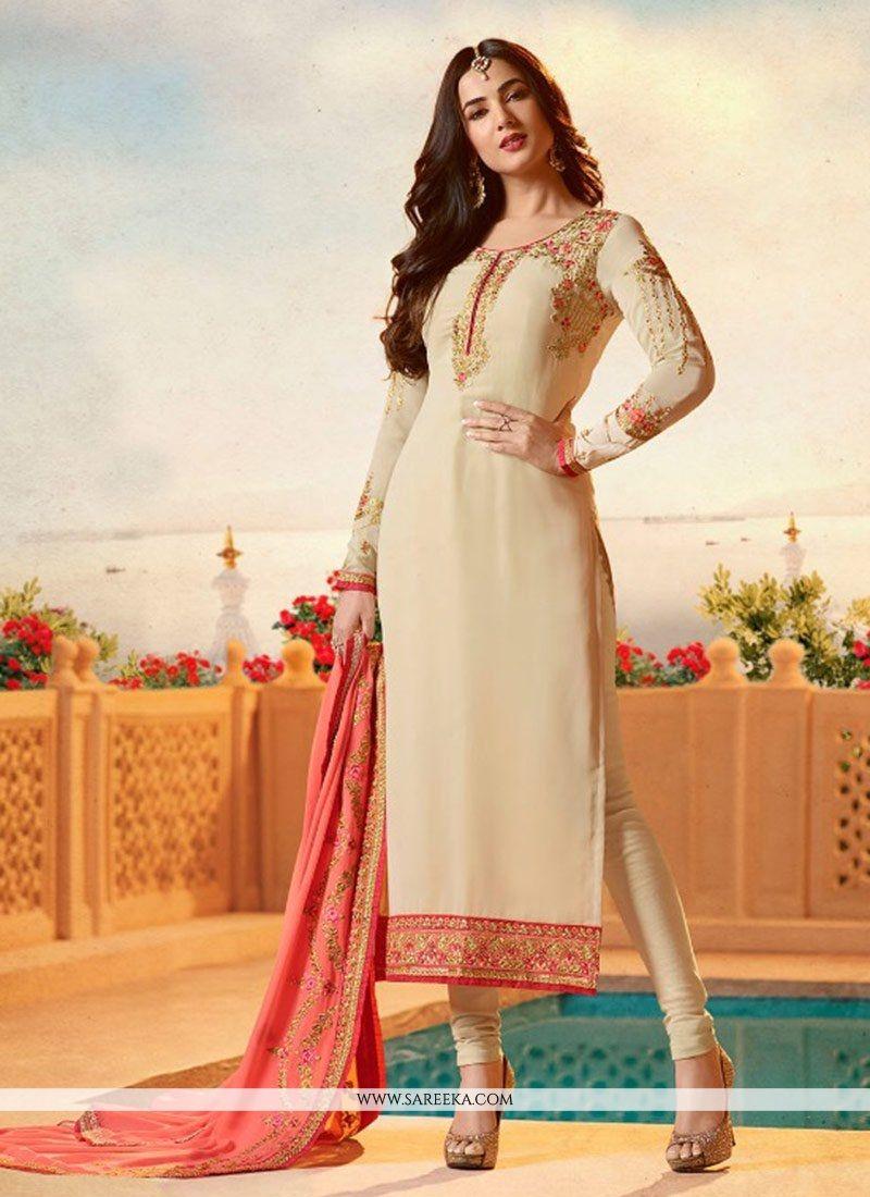 befed156b Buy Sonal Chauhan Churidar Designer Suit Online   75992 -