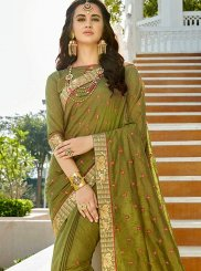Stone Work Work Silk Bollywood Saree