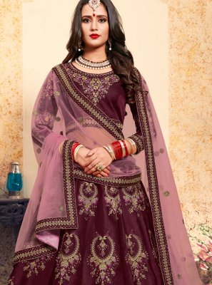 Thread Wedding Trendy Lehenga Choli