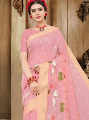 Thread Work Handloom Cotton Traditional Designer Saree