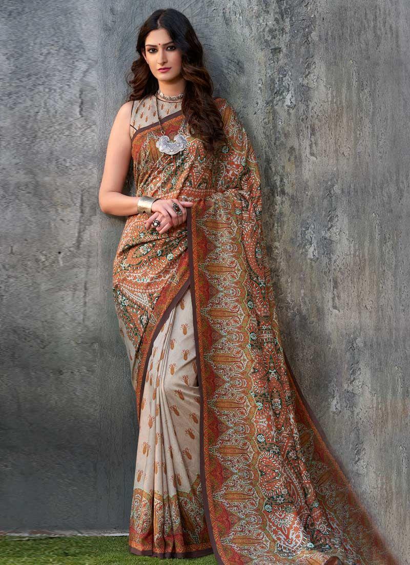 Tussar Silk Traditional  Saree
