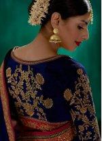 Viscose Resham Work Classic Designer Saree