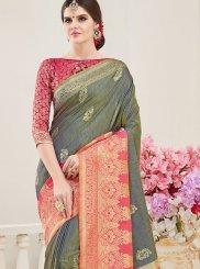 Weaving Party Designer Traditional Saree