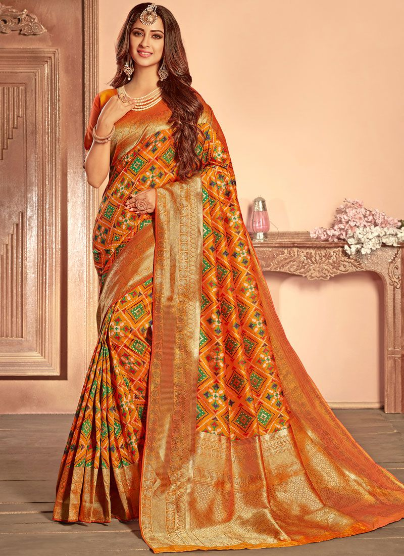 Weaving Wedding Designer Traditional Saree