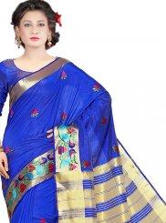 Weaving Work Art Silk Classic Designer Saree