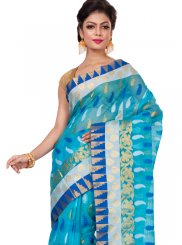 Weaving Work Cotton   Classic Designer Saree