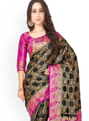 Weaving Work Designer Saree