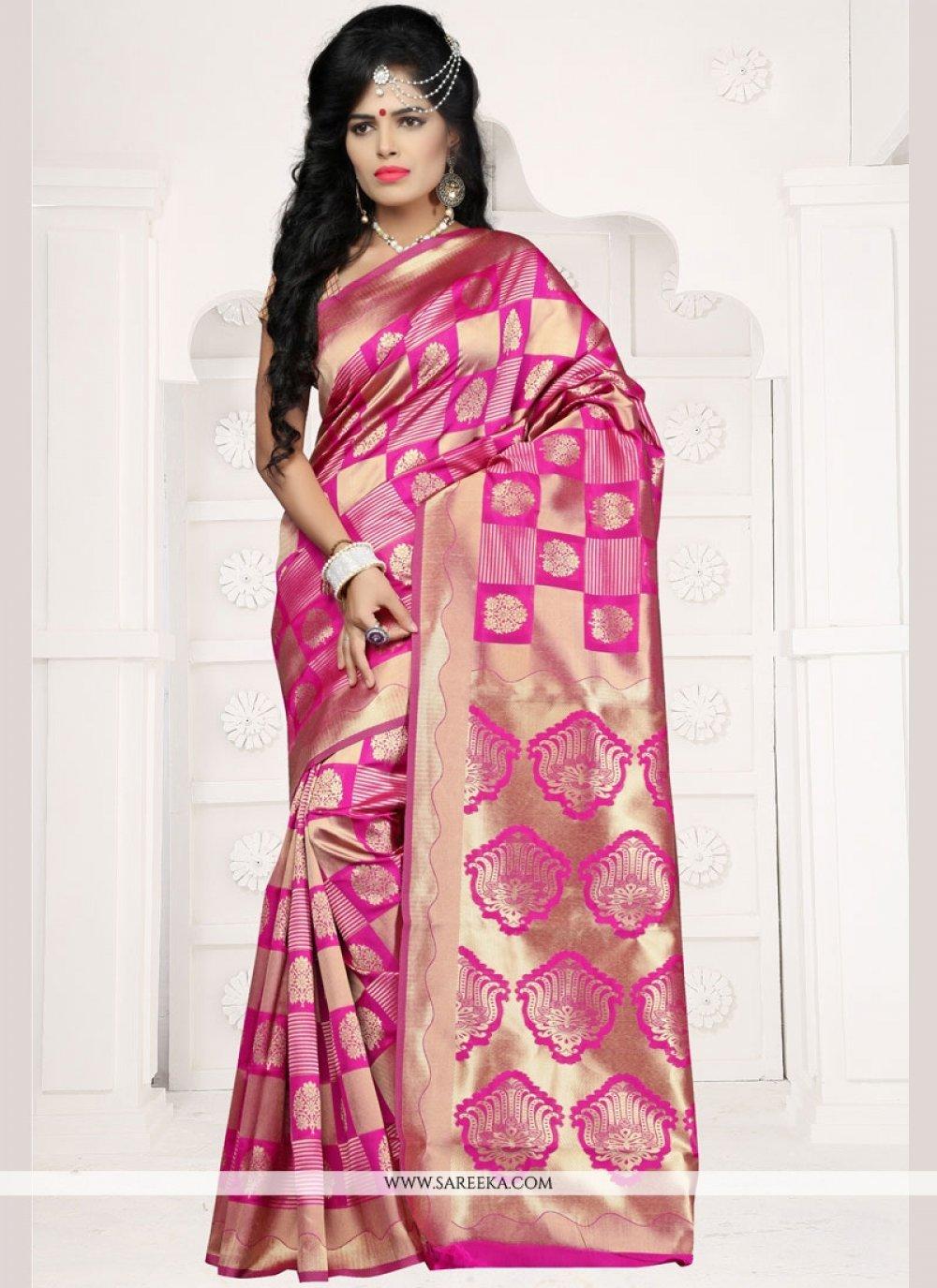 Weaving Work Traditional Designer Saree