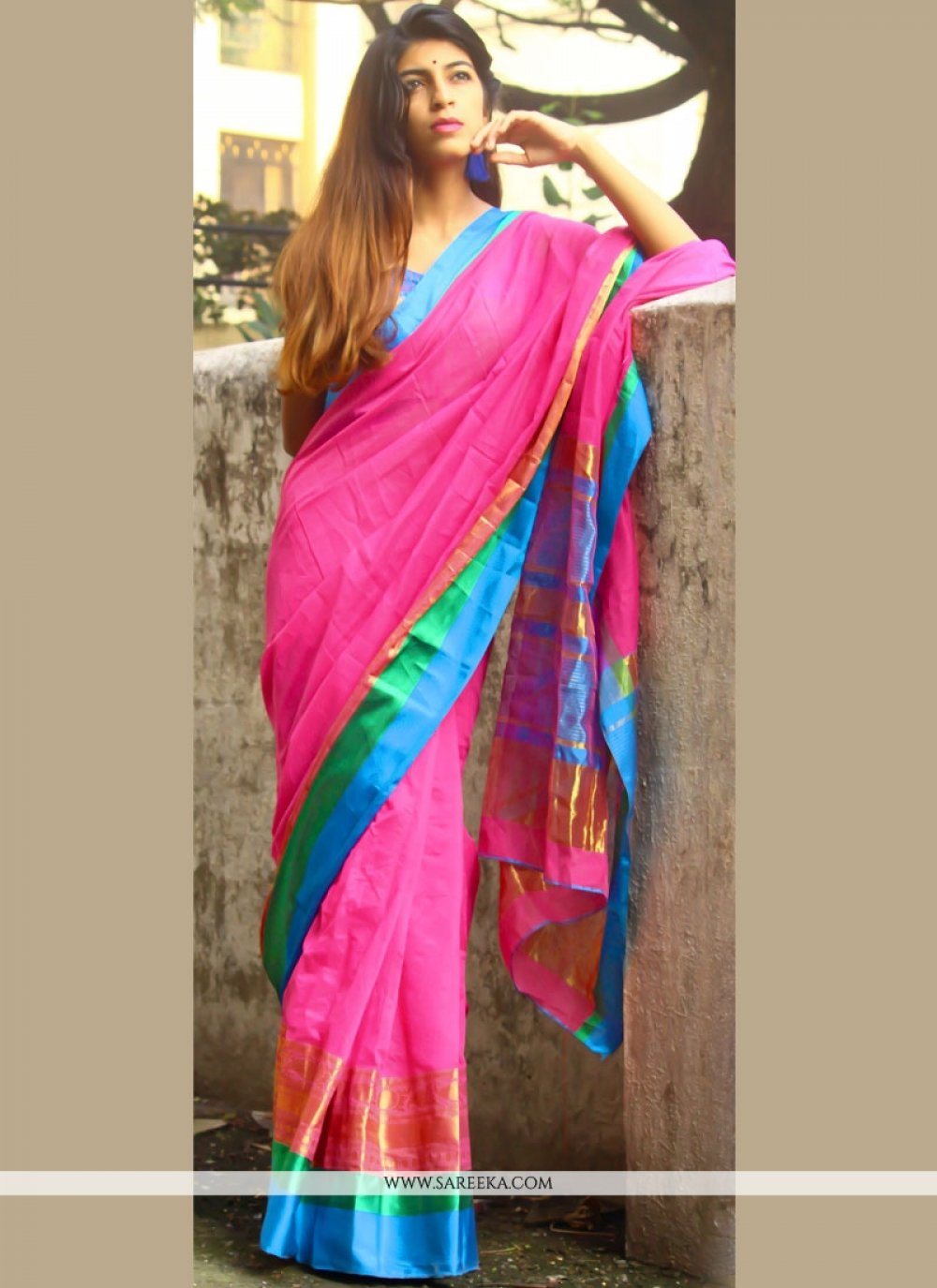 woven Work Casual Saree