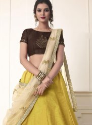 Yellow Wedding Lehenga Choli