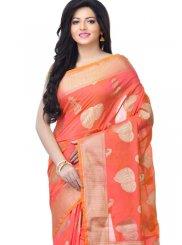 Zari Banarasi Silk Classic Designer Saree in Pink