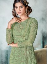 Zari Designer Pakistani Suit