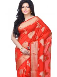 Zari Reception Classic Designer Saree