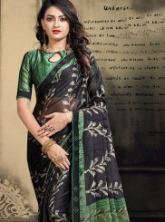 Abstract Print Ceremonial Printed Saree
