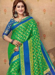 Abstract Print Ceremonial Trendy Saree