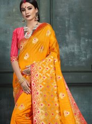 Abstract Print Designer Saree