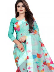 Abstract Print Festival Printed Saree