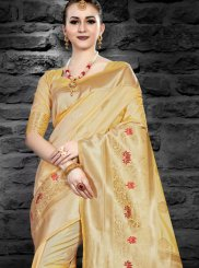 Abstract Print Festival Traditional Saree