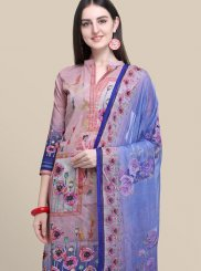 Abstract Print Multi Colour Designer Suit
