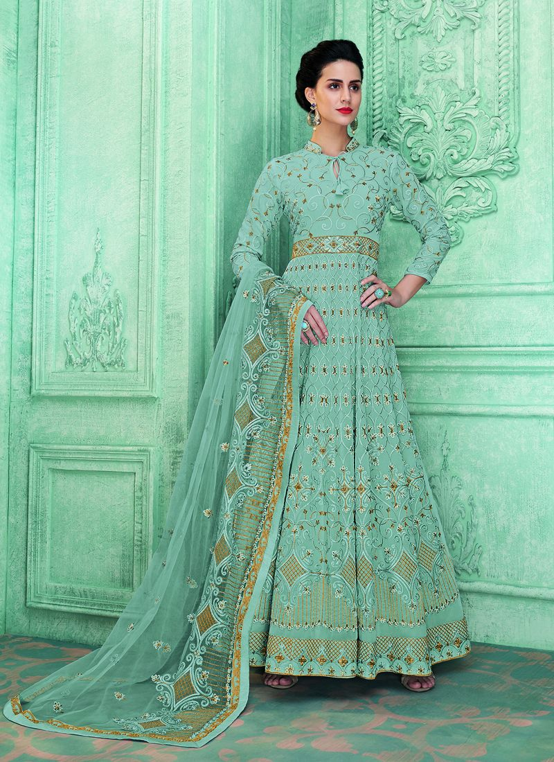 Anarkali Salwar Kameez For Festival