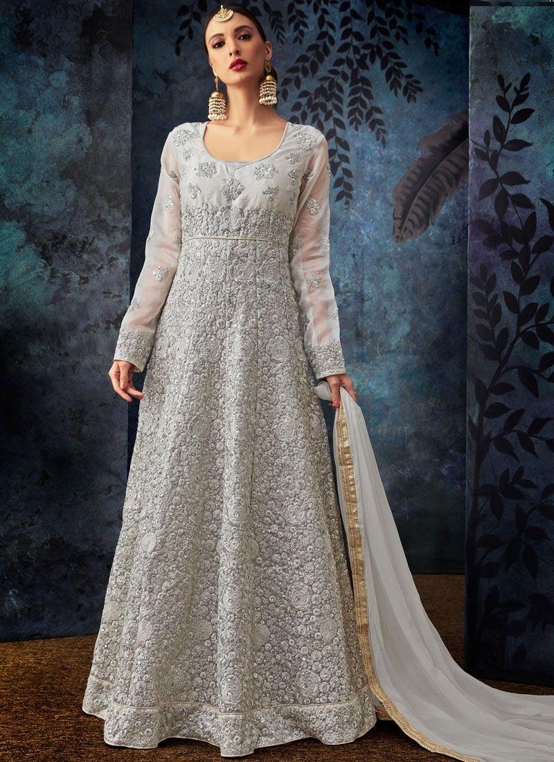 Anarkali Suit For Mehndi